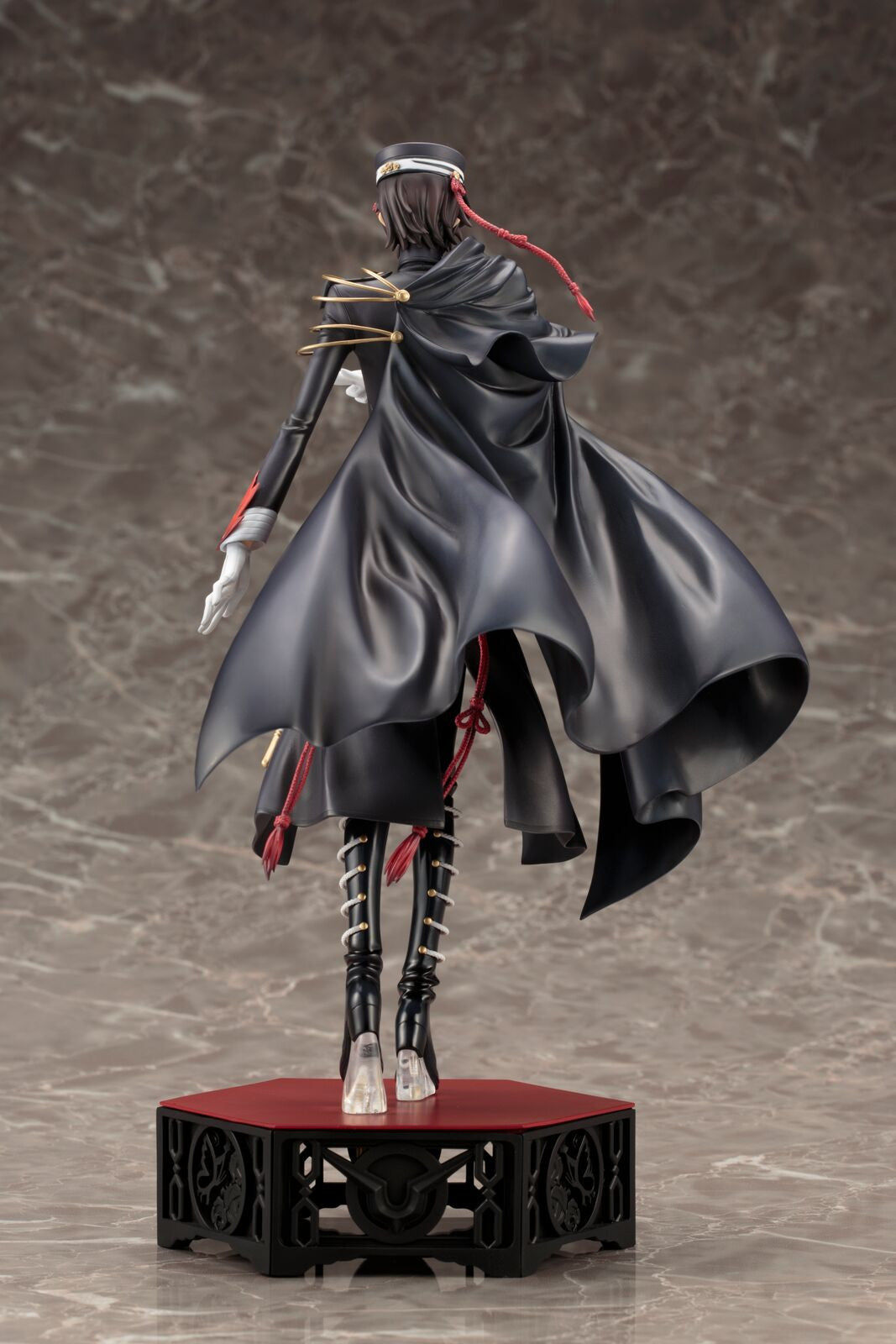 CODE GEASS CODE BLACK 1ST LIVE ENCOR! LELOUCH LAMPEROUGE ARTFX J