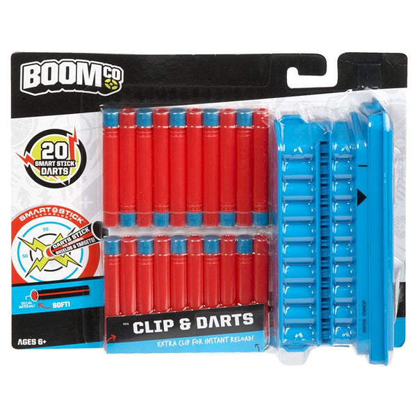 BOOMco. Clip and Darts Pack