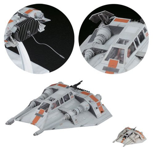 STAR WARS: SNOWSPEEDER 1:48 AND 1:144 SCALE MODEL KIT