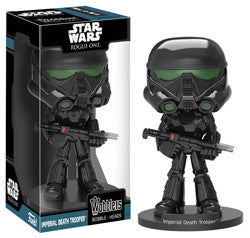 "STAR WARS WOBBLER: ROGUE ONE ""SHARK TROOPER"" IMPERIAL DEATH TROOER DELUXE"