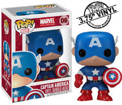 POP! MARVEL 06: CAPTAIN AMERICA