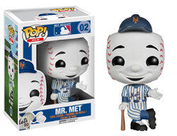 POP! MLB 02: MR. MET (NEW YORK METS)