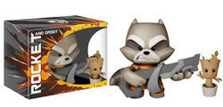 SUPER DELUXE VINYL: GUARDIANS OF THE GALAXY - ROCKET RACCOON AND DANCING GROOT