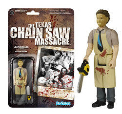 REACTION: THE TEXAS CHAINSAW MASSACRE - LEATHERFACE