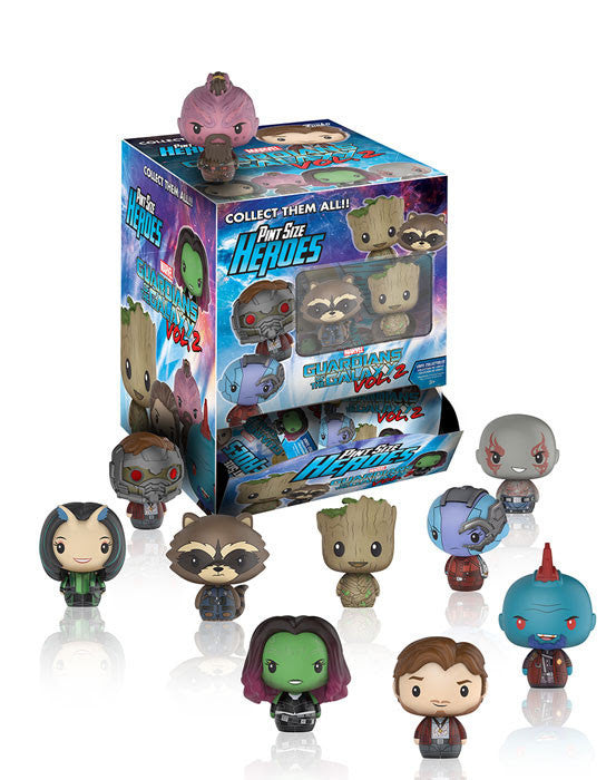 GUARDIANS OF THE GALAXY VOL. 2: PINT-SIZE HEROES - 24CT DISPLAY CASE