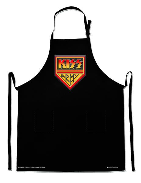 KISS ARMY SHIELD BBQ APRON