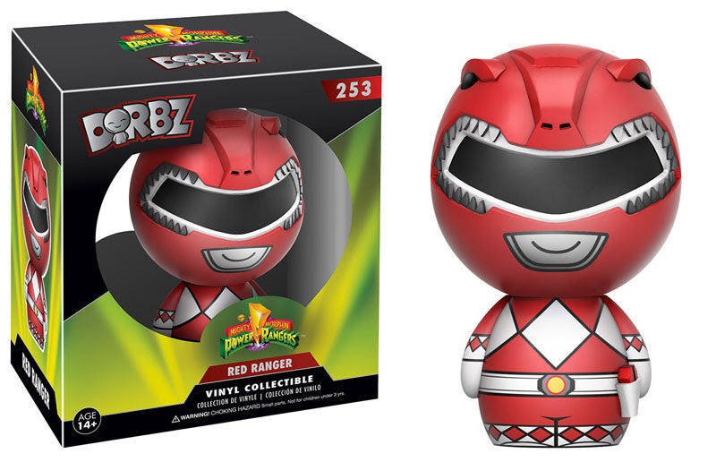 DORBZ 253: POWER RANGERS - RED RANGER OR METALLIC CHASE