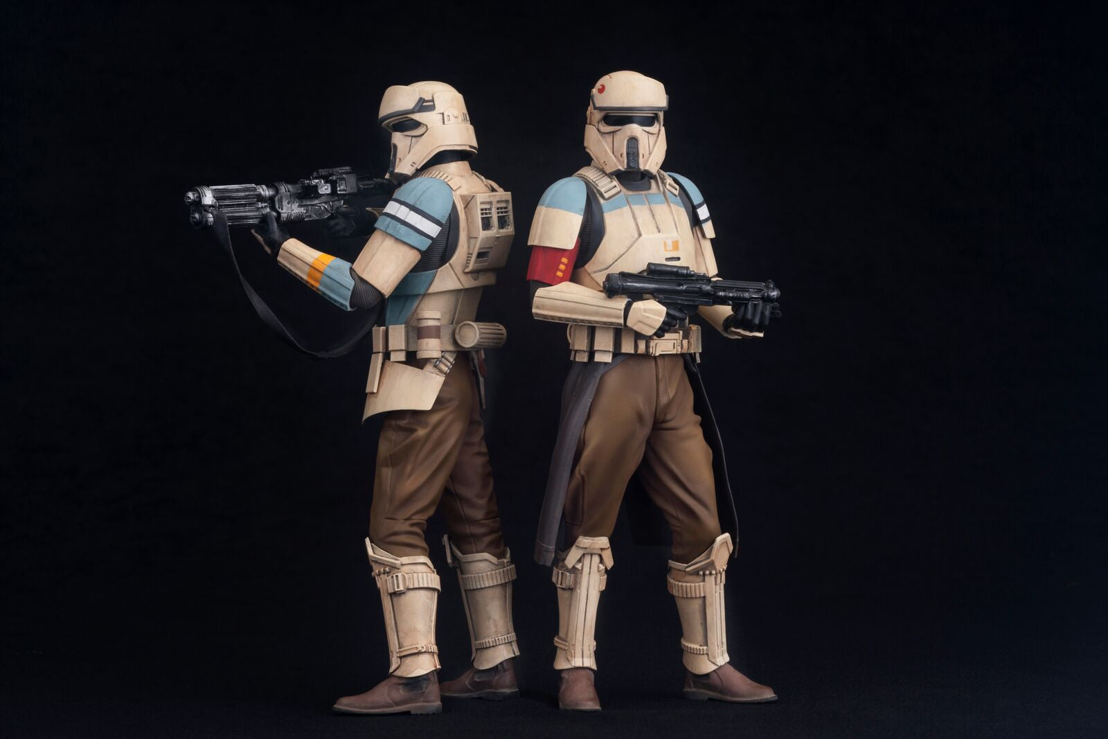 ROGUE ONE A STAR WARS STORY SCARIF STORMTROOPER TWO PACK ARTFX+