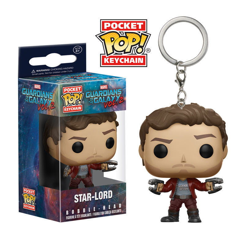 GUARDIANS OF THE GALAXY VOL.2: POCKET POP! KEYCHAIN - STAR-LORD
