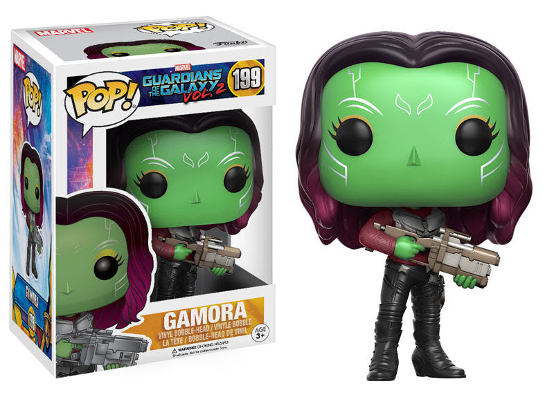 GUARDIANS OF THE GALAXY VOL.2: POP! MARVEL 199 - GAMORA