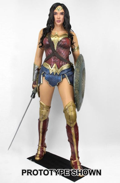 WONDER WOMAN: RISE OF A WARRIOR - LIFE SIZE FOAM FIGURE