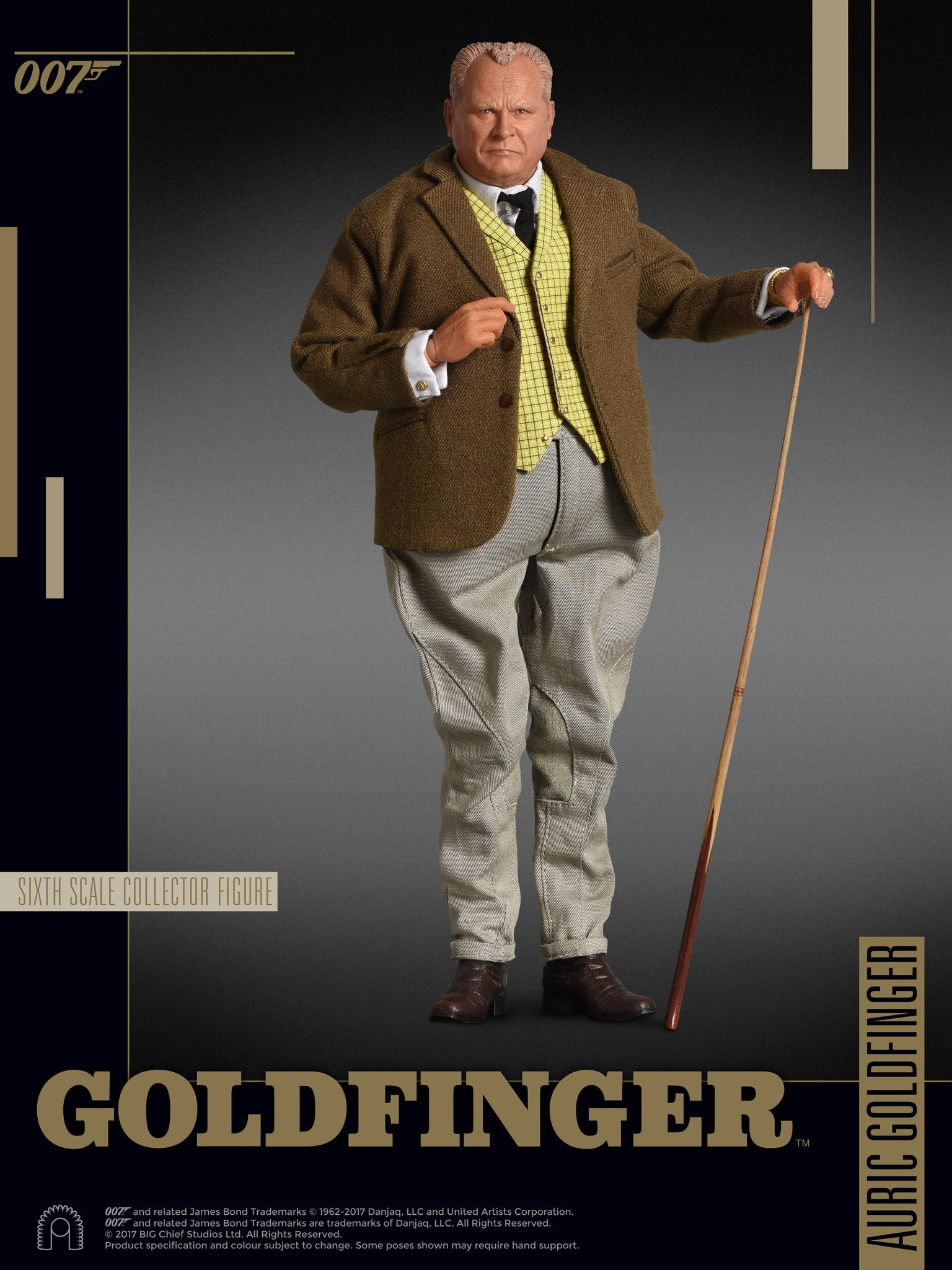 GOLDFINGER - AURIC GOLDFINGER - 1:6 SCALE COLLECTOR EDITION FIGURE
