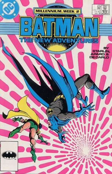BATMAN (1940 SERIES) (DC) #415 DIRECT FINE COMICS BOOK
