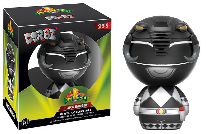 DORBZ 255: POWER RANGERS - BLACK RANGER