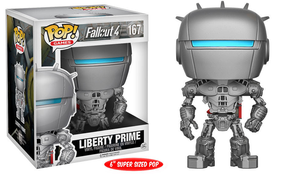 FALLOUT 4: POP! GAMES 167 - LIBERTY PRIME 6""