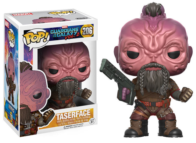 GUARDIANS OF THE GALAXY VOL.2: POP! MARVEL 206 - TASERFACE