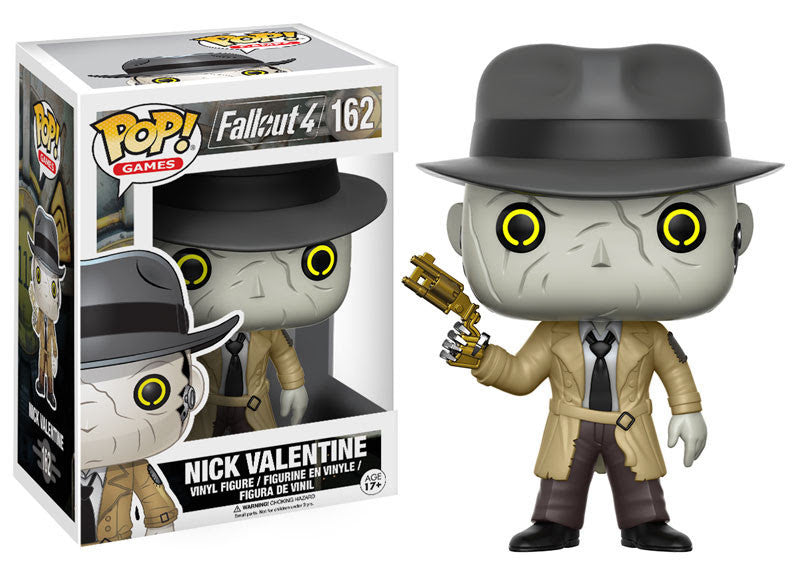 FALLOUT 4: POP! GAMES 162 - NICK VALENTINE