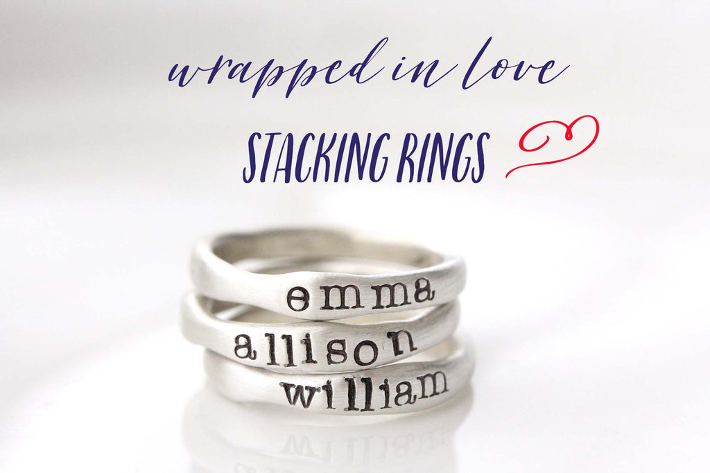 HOORAY.... stacking rings are here!