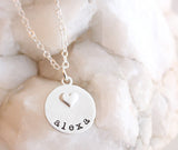 little miss charm necklace