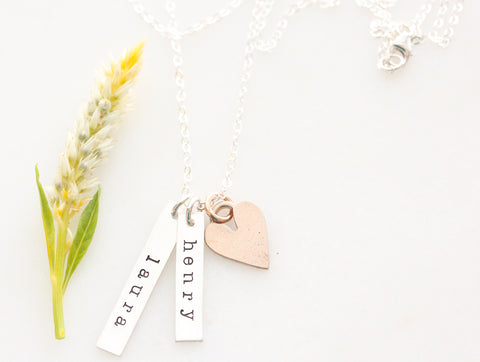 our love grows necklace