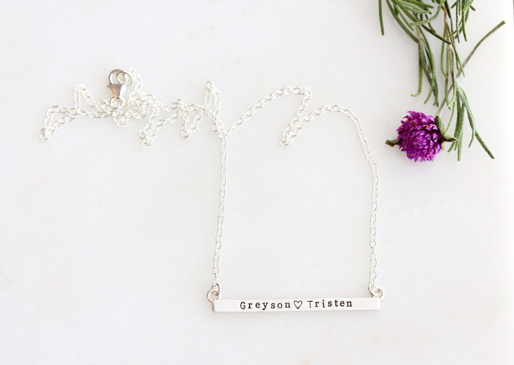 stay close necklace {sterling silver}