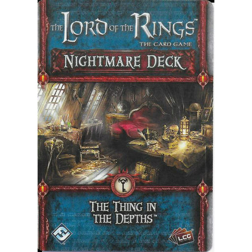 Lord Of The Rings Lcg: The Thing In The Depths Nightmare Deck