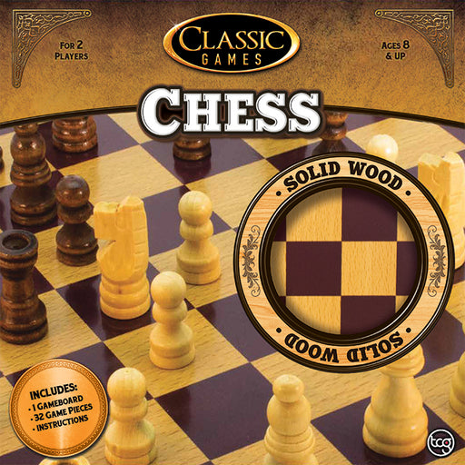 Classic Games - Wood Chess