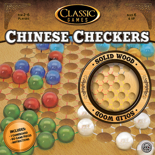 Classic Games - Wood Chinese Checkers