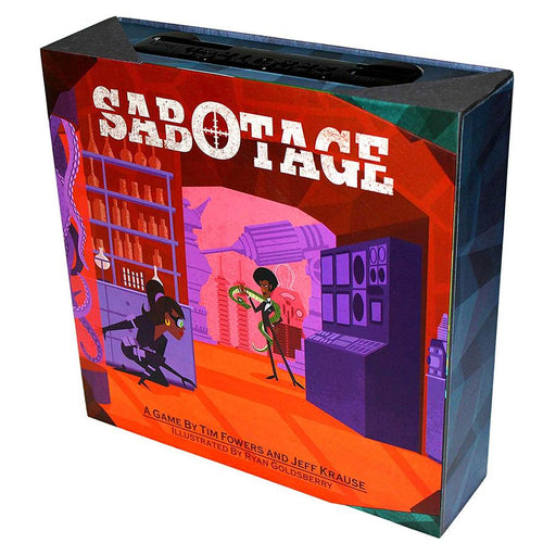 Sabotage (PICKUP/LOCAL DELIVERY ONLY)-LVLUP GAMES