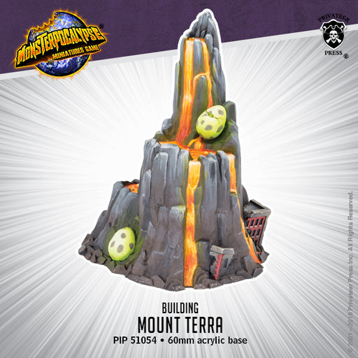 Monsterpocalypse: Buildings - Mount Terra