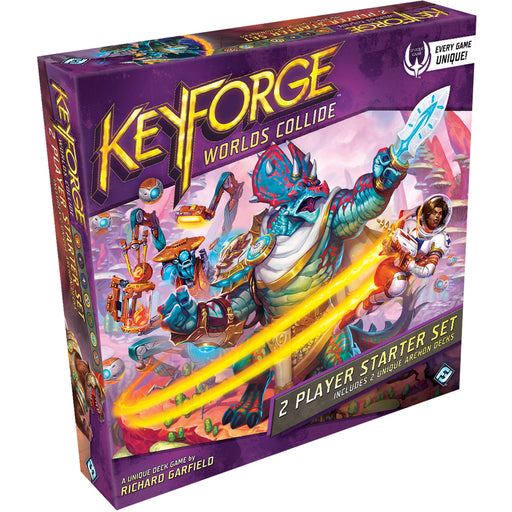 Keyforge: Worlds Collide - 2 Player Starter Set-LVLUP GAMES