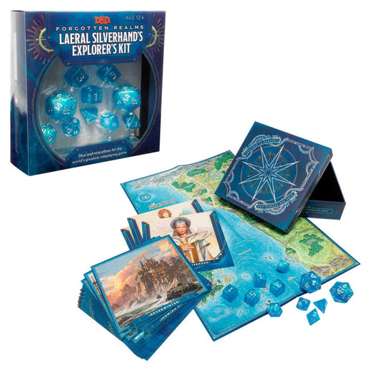 D&D Laereal Silverhand's Explorer's Kit-LVLUP GAMES