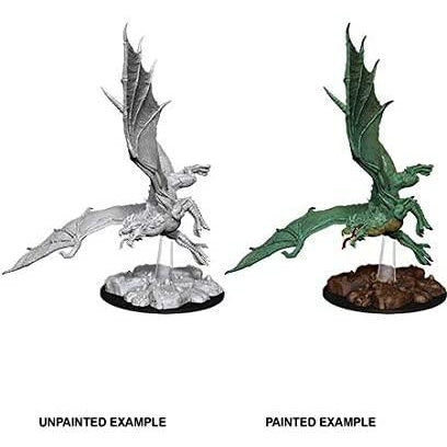 D&D Nolzur's Marvelous Miniatures:  Young Green Dragon -LVLUP GAMES