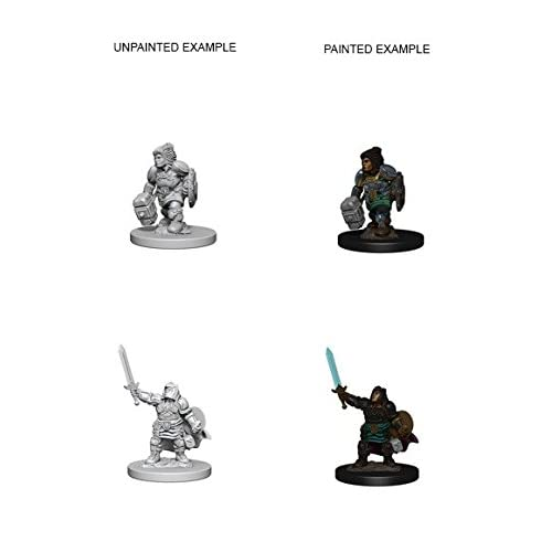 D&D Nolzur's Marvelous Miniatures:  Dwarf Female Paladin -LVLUP GAMES