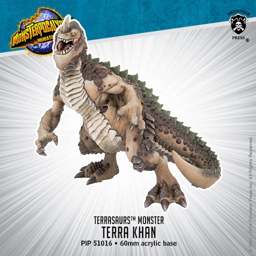 Monsterpocalypse: Terra Khan Terrasaur Monster
