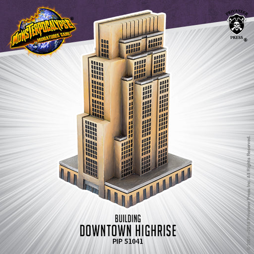 Monsterpocalypse: Buildings - Downtown High Rise