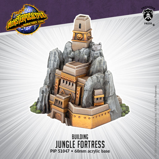 Monsterpocalypse: Jungle Fortress Building