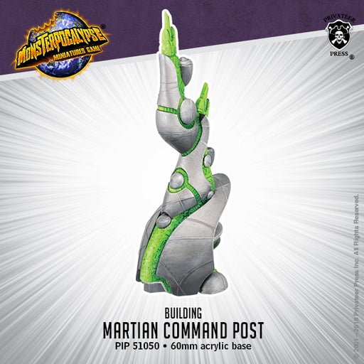 Monsterpocalypse: Buildings - Martian Command Post