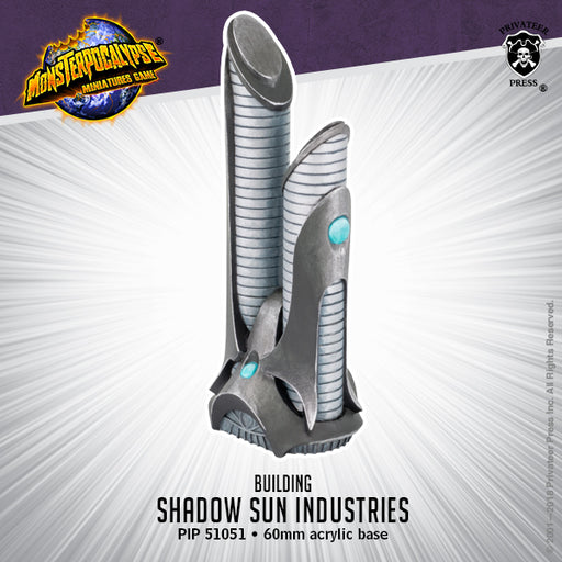 Monsterpocalypse: Buildings - Shadow Sun Industries
