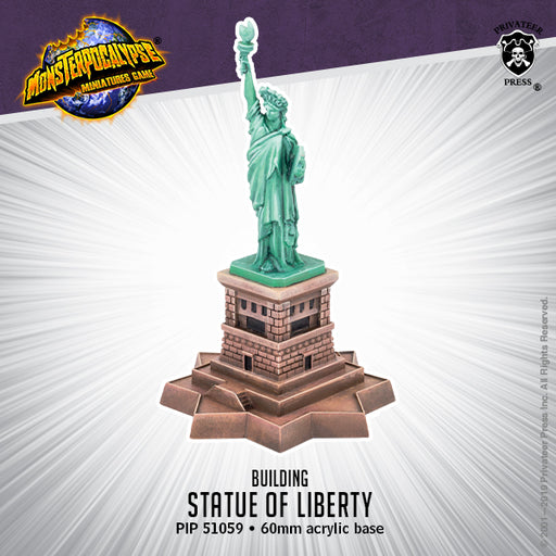 Monsterpocalypse: Statue Of Liberty Building