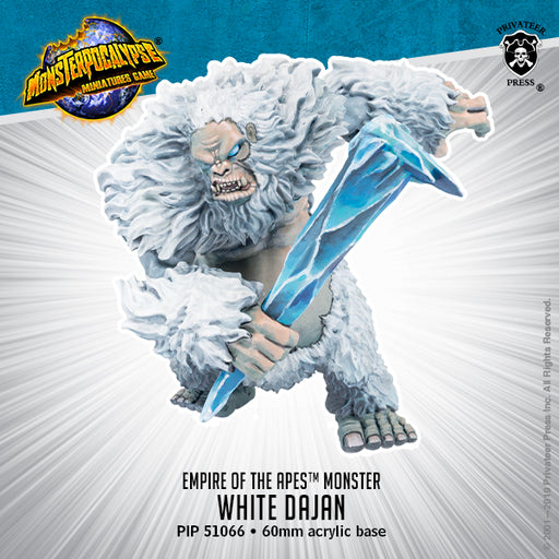 Monsterpocalypse: White Dajan Empire Of The Apes
