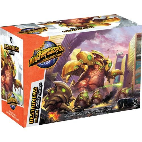 Monsterpocalypse: Destroyers - Planet Eaters Starter Set-LVLUP GAMES