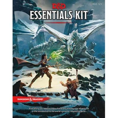 D&D (5th Edition) Essentials Kit-LVLUP GAMES