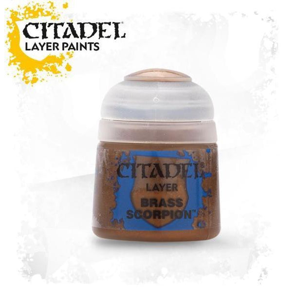 Citadel Paint: Layer - Brass Scorpion (12 ml)-LVLUP GAMES