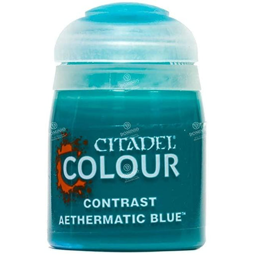 Citadel Paint: Contrast - Aethermatic Blue (18 mL)-LVLUP GAMES