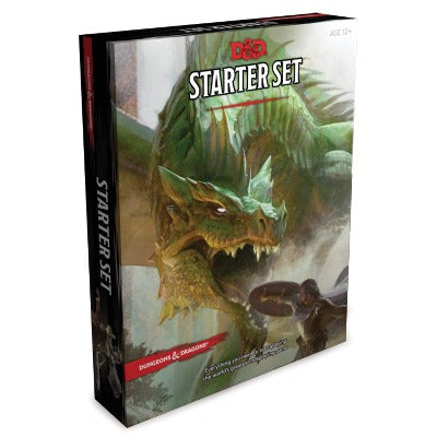 D&D (5th Edition) Starter Set-LVLUP GAMES