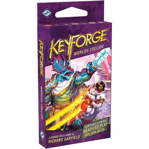 KeyForge: Worlds Collide Deck-LVLUP GAMES