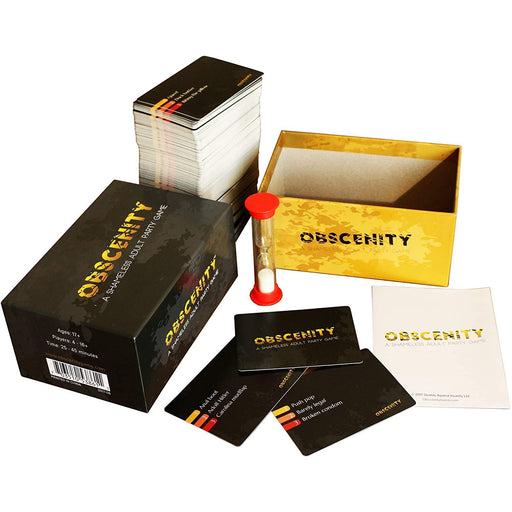 Obscenity: A Shameless Adult Party Game-LVLUP GAMES