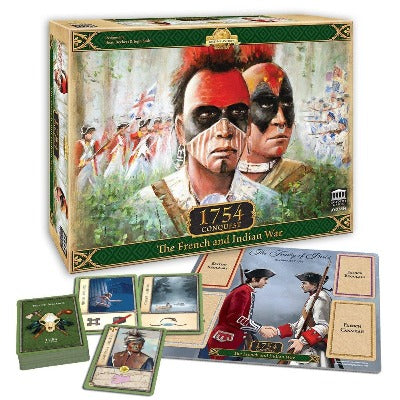 1754 Conquest: The French And Indian War-LVLUP GAMES