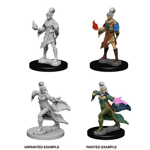 D&D Nolzur's Marvelous Miniatures: Elf Female Sorcerer -LVLUP GAMES